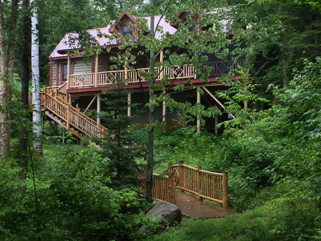 camp lakotah-vacation rental waterfront saranac lake, ny