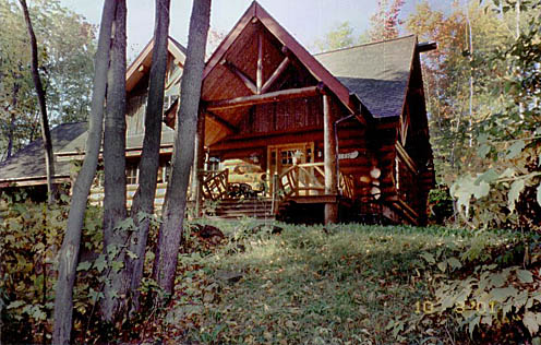 adk vacation rental home exterior