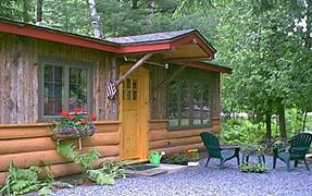 adirondack guest cottage for rent