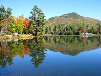 baker mountain and moody pond adirondacks