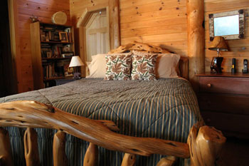 wooden handcrafted beds